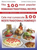 The 100 Most Popular Romanian Recipes Bilingual Cooking Book (English-Romanian)
