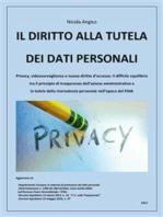 Il diritto alla tutela dei dati personali