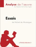 Essais de Michel de Montaigne (Analyse de l'oeuvre)