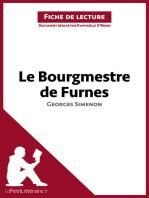 Le Bourgmestre de Furnes de Georges Simenon (Fiche de lecture)