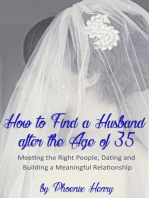 How to Find a Husband after the Age of 35
