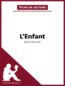 L'Enfant de Jules Vallès (Fiche de lecture): Résumé complet et analyse détaillée de l'oeuvre