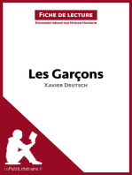 Les Garçons de Xavier Deutsch (Fiche de lecture)