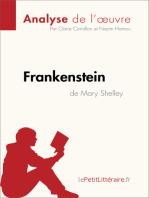 Frankenstein de Mary Shelley (Analyse de l'oeuvre)
