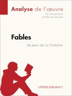 Fables de Jean de La Fontaine (Analyse de l'oeuvre)