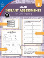 Instant Assessments for Data Tracking, Grade 3