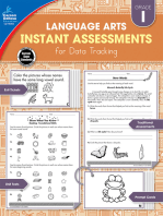 Instant Assessments for Data Tracking, Grade 1