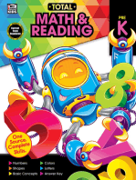 Total Math and Reading, Grade PK