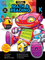 Total Math and Reading, Grade K