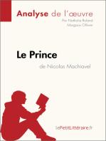 Le Prince de Nicolas Machiavel (Analyse de l'œuvre)