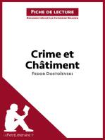 Crime et Châtiment de Fedor Dostoïevski (Fiche de lecture)