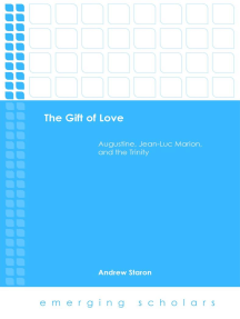 The Gift of Love: Augustine, Jean-Luc Marion, and the Trinity