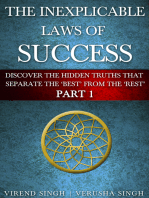 The Inexplicable Laws Of Success (Part 1)