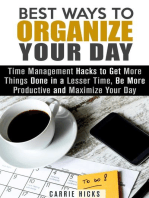 Best Ways to Organize Your Day