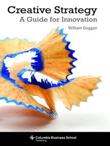 Creative Strategy: A Handbook for Innovation