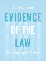 Evidence of the Law: Proving Legal Claims
