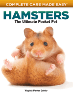 Complete Care Made Easy, Hamsters