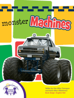 Monster Machines Sound Book
