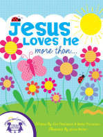 Jesus Loves Me More Than