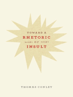 Toward a Rhetoric of Insult