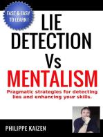 Lie Detection vs Mentalism