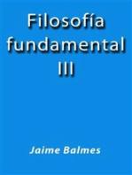 Filosofia fundamental III