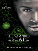 The Vampire's Escape