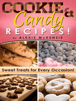 Cookie and Candy Recipes