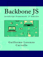 Backbone JS. JavaScript Framework. 2ª Edición