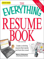 The Everything Resume Book