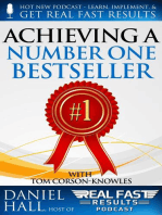 Achieving a Number One Bestseller