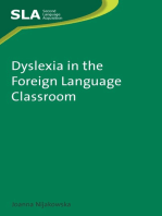 Dyslexia in the Foreign Language Classroom