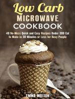 Low Carb Microwave Cookbook