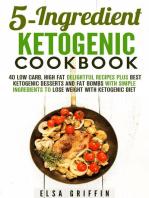 5-Ingredient Ketogenic Cookbook