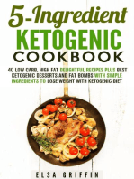5-Ingredient Ketogenic Cookbook
