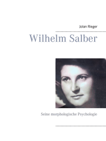 Wilhelm Salber: Seine morphologische Psychologie