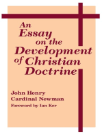 Essay on the Development of Christian Doctrine, An