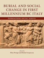 Burial and Social Change in First Millennium BC Italy