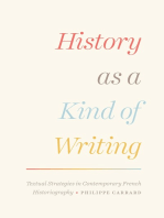 History as a Kind of Writing