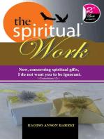 THE SPIRITUAL WORK
