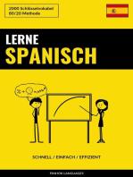 Lerne Spanisch
