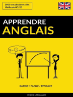 Apprendre l'anglais: Rapide / Facile / Efficace: 2000 vocabulaires clés