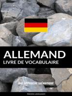 Livre de vocabulaire allemand