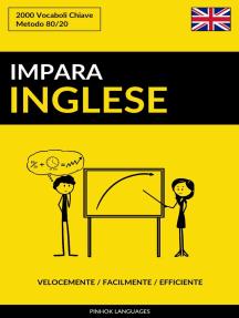 Impara l'Inglese: Velocemente / Facilmente / Efficiente: 2000 Vocaboli Chiave