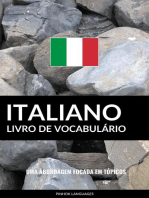 Livro de Vocabulário Italiano