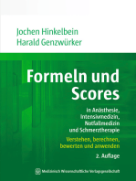 Formeln und Scores in Anästhesie, Intensivmedizin, Notfallmedizin und Schmerztherapie