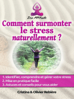 Comment surmonter le stress naturellement