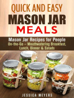 Quick and Easy Mason Jar Meals