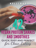 42 Vegan Protein Shakes and Smoothies