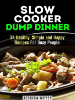Slow Cooker Dump Dinners
